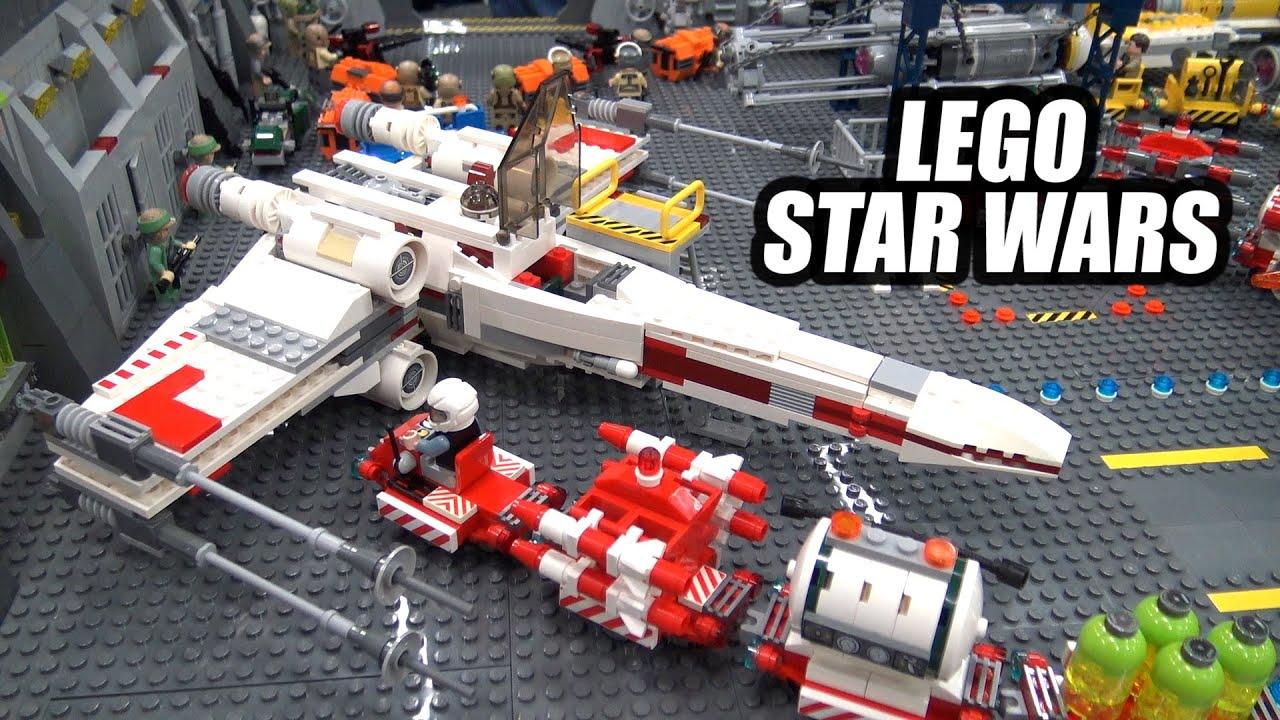 Custom LEGO Star Wars Rebel Hangar | Bricks Cascade 2020
