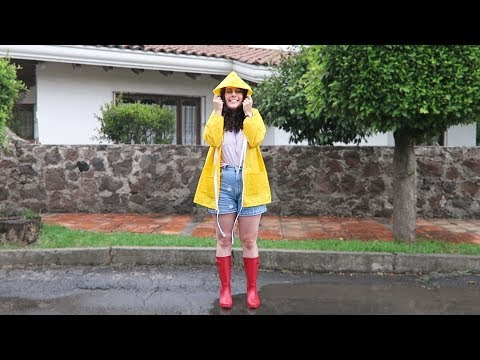 IMPERMEABLE  - TUTORIAL