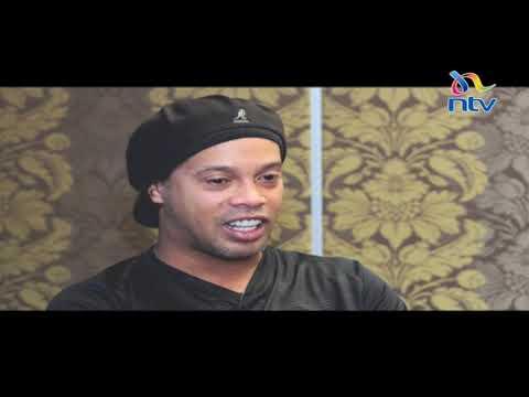 Brazilian football legend Ronaldinho talks Messi, Victor Wanyama and training regime