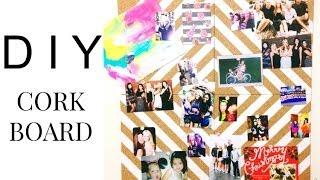 DIY Cork Board | BeautybyBlaire