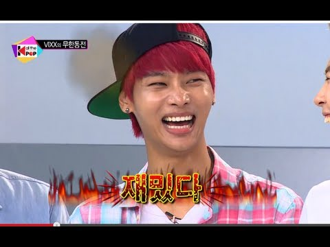 All The K-pop - Infinite Coin Challenge with VIXX, 올 더 케이팝 - VIXX의 무한동전 #01, 20130806