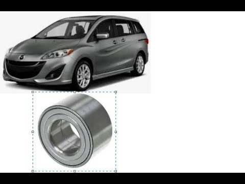 2012-2017 Mazda 5 Front Wheel Bearing Replacement