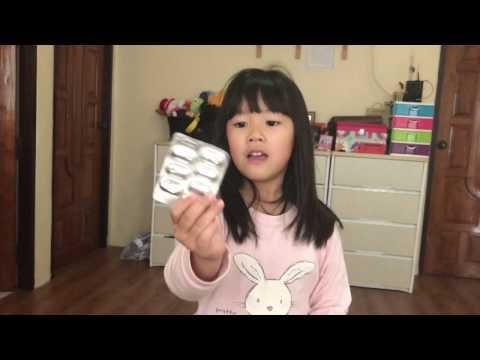 นมที่มีกระเทียมจากปรสิตการแสดงความคิดเห็นสำหรับเด็ก