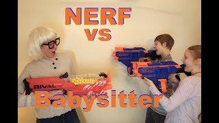 Nerf vs The Babysitter