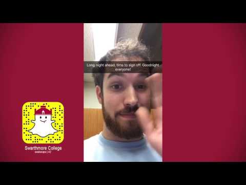 Snapchat Takeover: Sam Hanson '18