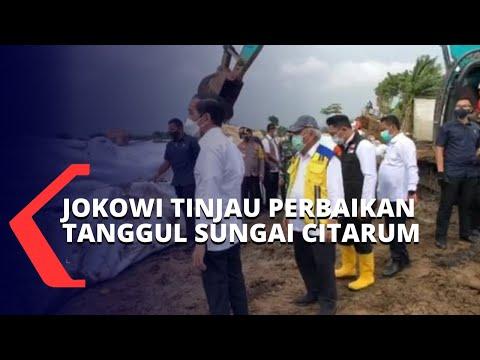 Bekasi Terendam Banjir, Jokowi Targetkan Perbaikan Tanggul Citarum Bisa Selesai dalam 2 Hari