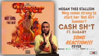 Megan Thee Stallion Feat. DaBaby   Cash Sh*t Song Reaction!!! It's Gonna Be A Real Hot Girl Summer!