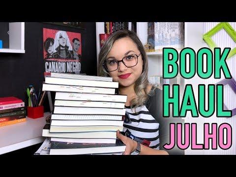 BOOK HAUL JULHO | 2018