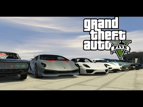 GTA 5 Realistic Cars Mod   Rooftop Collection
