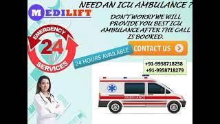 Optimum Ambulance Service in Adarsh Nagar and Ashok Nagar by Medilift