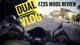 Yamaha FZ25 Touring Kit REVIEWED !? | Dual Vlog