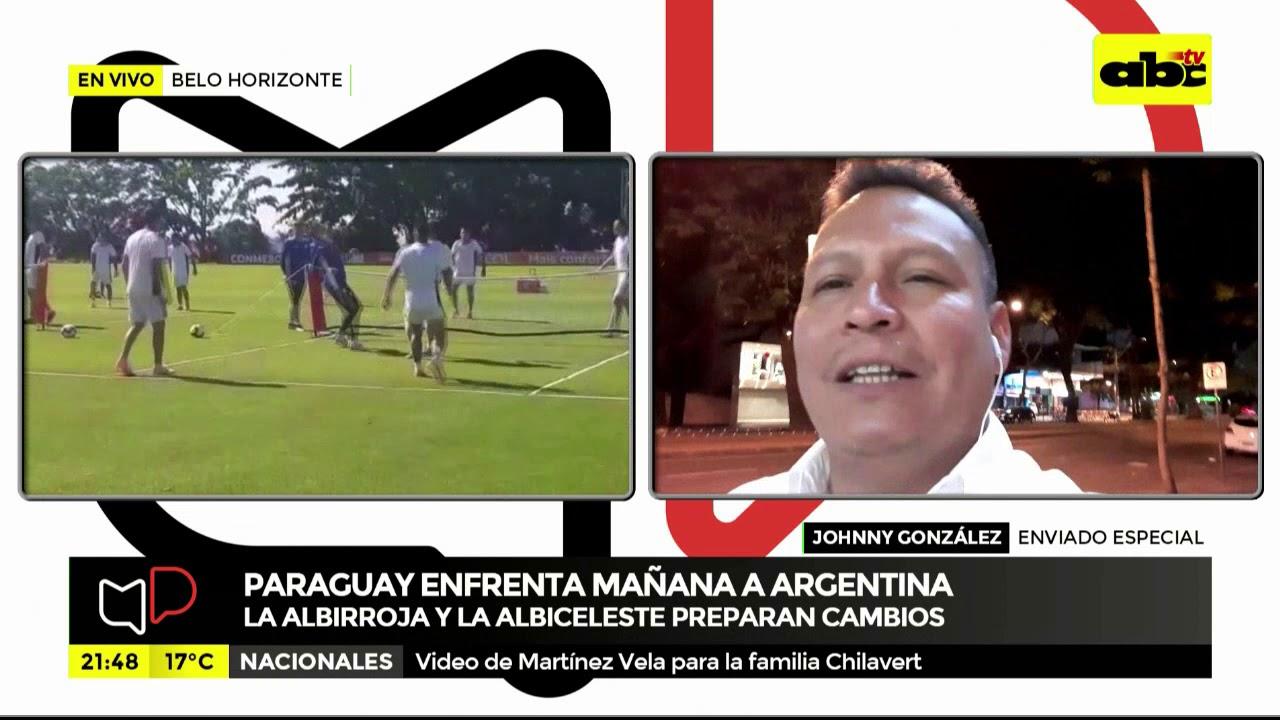 Berizzo prepara cambios para el partido contra Argentina