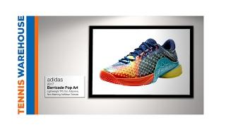 more photos 783fc aca70 Tennis Warehouse On The Air. adidas Barricade 18 OMNI Silver White Men u0027s  Shoe ...