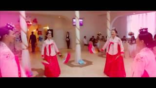 """Корейский традиционный танец с веерами """"Пучечум"""" (Korean traditional fan dance """"Buchaechum"""")"""