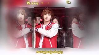 [Vietsub + Kara] Grumbling - Lee Teuk (Super Junior) & Krystal [f(x)]