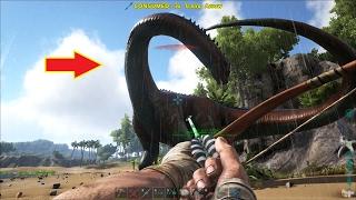 ARK: Survival Evolved #7 - Đã bắt được con Khủng long cổ dài Brontosaurus =))