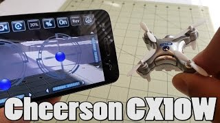 Cheerson CX-10W Review (from Banggood)