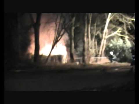 Uitslaande brand opslagcontainer te Mill (16-01-11)