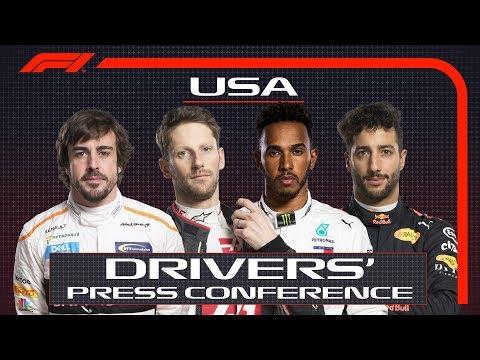 2018 US Grand Prix: Press Conference Highlights