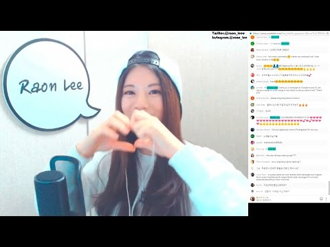 Raon Lee talks about her and PelleK's relationship