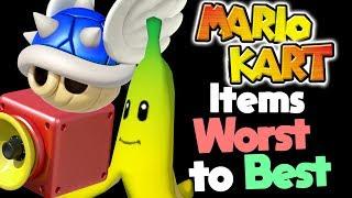 Ranking Every Item in Mario Kart