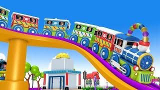 Toy Train Fun Ride: Toy Factory Cartoon Train for kids | Kids Videos for kids Cartoon Cartoon