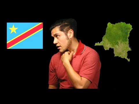 Demokratická republika Kongo - Geography Now!