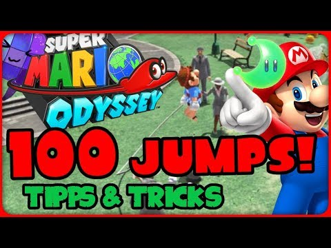 , title : '100 JUMPS beim Seilspringen! Tipps & Tricks 💪 SUPER MARIO ODYSSEY Tutorial'
