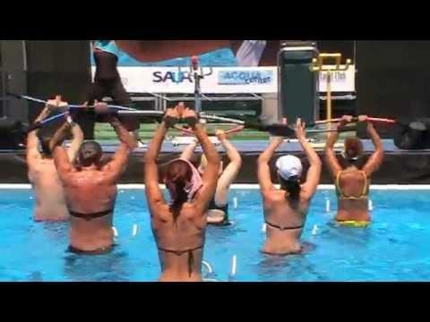 Aqua Fitness - BODYFLEX - das ultimative Trainingsgerät für Land und Wasser