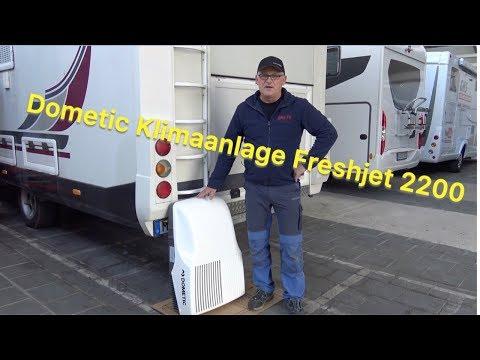 Klimaanlage Dometic Freshjet 2200 – Mit GNS in den Sommer