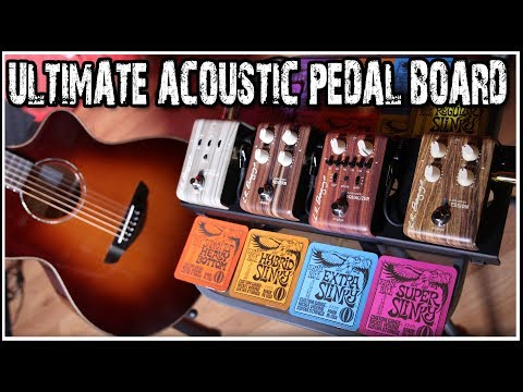 Ultimate Acoustic Guitar Pedal Board |  L.R. BAGGS Align Series Pedals Review