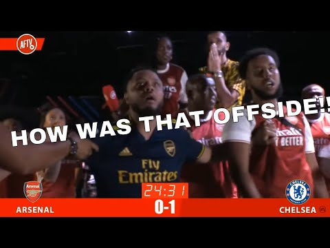 HILARIOUS ARSENAL AND CHELSEA FANS REACT TO FA CUP FINAL!