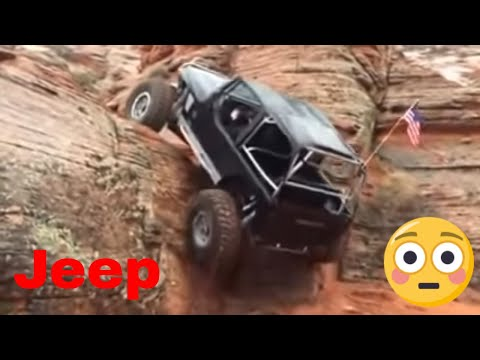 Jeep Wrangler - Amazing Rock Climbing
