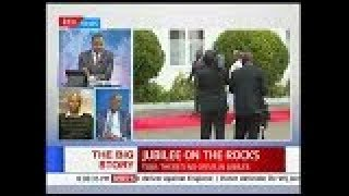 What or who is causing the 'cracks' in Jubilee Party | The Big Story