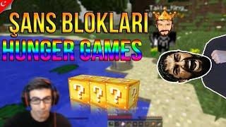 Oyun Portal Köpeğimi Öldürdü!! | ŞANS BLOKLARI HUNGER GAMES #2