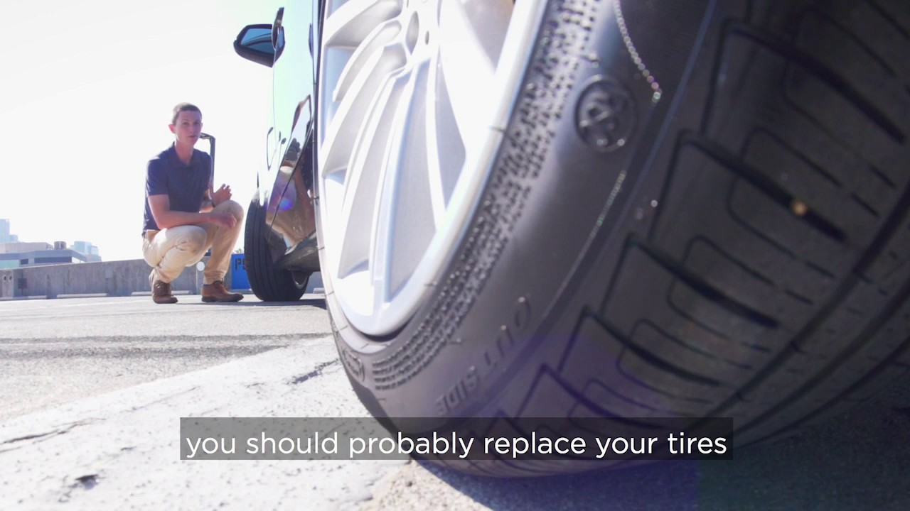 How to Check Tread Depth