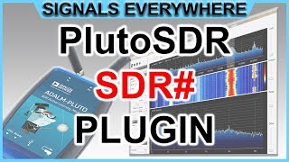 Adalm Pluto SDR Sharp Plugin Tutorial ~ [Infamous SDR# on
