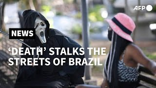 Death Stalks The Streets As Brazil Passes 100,000 Virus Deaths | AFP