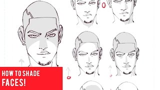 How To Draw And Shade Faces [10 EASY WAYS]