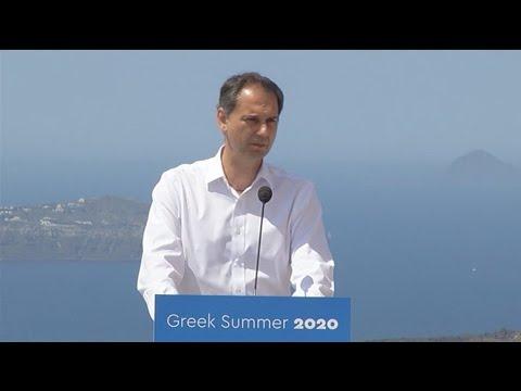 Χ. Θεοχάρης: Η κρίση μπορεί να αποτελέσει ευκαιρία για τον ελληνικό τουρισμό