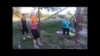 preview picture of video 'outdoor TRX FIT Zóna Martin'