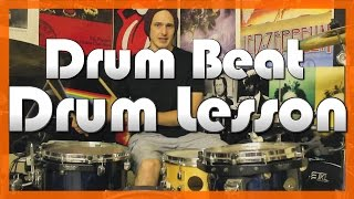 ★ Wipe Out (The Surfaris) ★ FREE Drum Lesson   How To Play Drum BEAT   Alex Ribchester