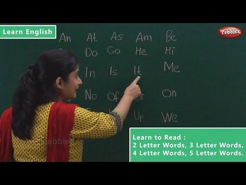 Reading 2 Letter Words | 3 Letter Words | 4 Letter Words | 5 Letter Words | Learn English