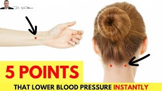☝️ These 5 Pressure Points Will Instantly Lower Your Blood Pressure