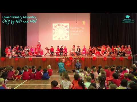 Lower Primary Assembly: Chinese New Year by 1GD and 1MM