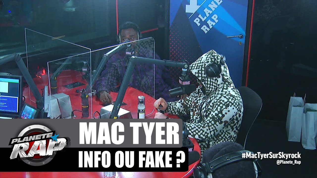 Kalash Criminel connaît bien Mac Tyer ? INFO ou FAKE ? #PlanèteRap