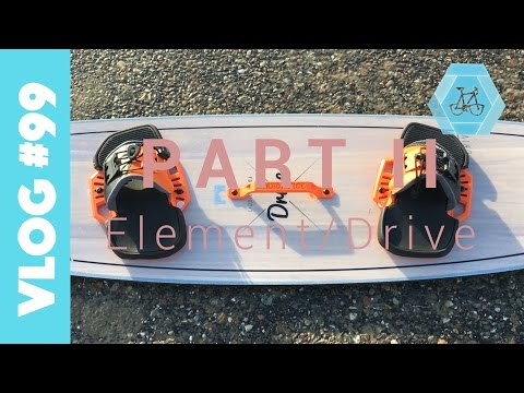 Liquid Force Drive und Element 2017 Kiteboard Review | VLOG#99.2