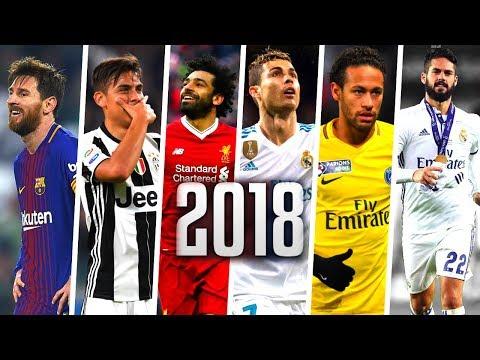 Best Football Skills Mix 2018 ● Ronaldo Neymar Salah Messi Dybala Isco