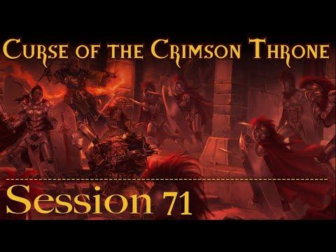 Curse of the Crimson Throne Session 71