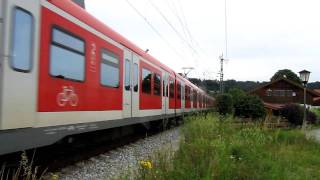 preview picture of video 'S Bahn Munchen - S7 einfart in Bahnhof Wolfratshausen'